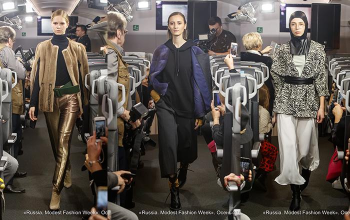 Russia. Modest Fashion Week